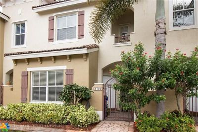 Margate Condo/Townhouse For Sale: 3120 Merrick Ter #1903