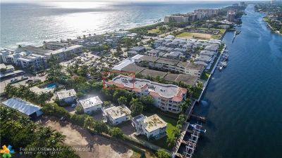 Hillsboro Beach FL Condo/Townhouse For Sale: $788,900