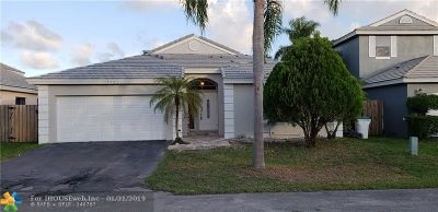 Coconut Creek Single Family Home For Sale: 5464 NW 55th Dr