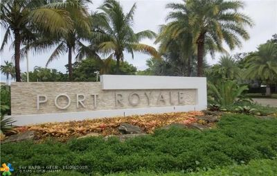 Fort Lauderdale Condo/Townhouse For Sale: 3200 Port Royale Dr #1207