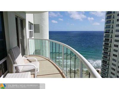 Fort Lauderdale Condo/Townhouse For Sale: 3410 Galt Ocean Dr #1508N