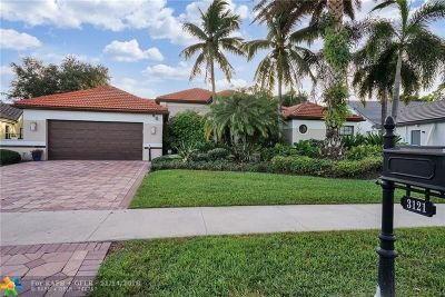 Davie Single Family Home For Sale: 3121 Rosewood Ct