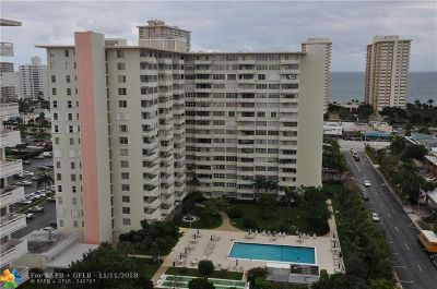 Fort Lauderdale Condo/Townhouse For Sale: 3333 NE 34th St #1122