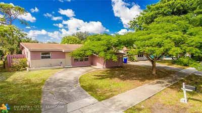 Fort Lauderdale Single Family Home For Sale: 1737 SW 43rd Ave