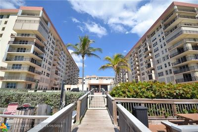 Hillsboro Beach Condo/Townhouse Backup Contract-Call LA: 1147 Hillsboro Mile #507