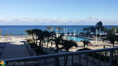 Lauderdale By The Sea Condo/Townhouse For Sale: 1620 S Ocean Blvd #4k