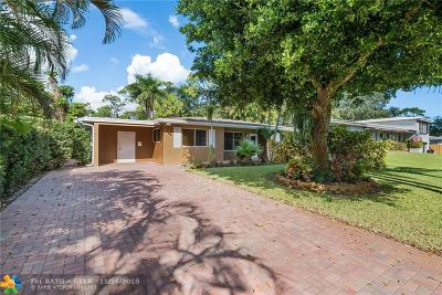 Fort Lauderdale Single Family Home For Sale: 3041 SW 21st Ct
