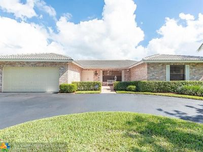 Coral Springs Single Family Home For Sale: 839 NW 110th Ln
