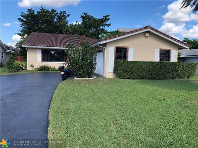 Coral Springs Rental For Rent: 9067 NW 21st Ct
