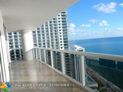 Hallandale Condo/Townhouse For Sale: 1800 S Ocean Dr #3301
