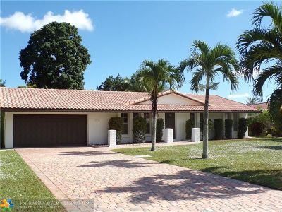 Coral Springs Single Family Home For Sale: 4451 NW 105th Ter