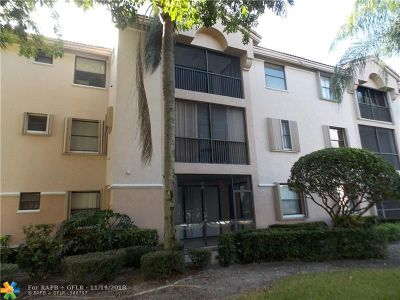 Coconut Creek Condo/Townhouse For Sale: 4121 Coral Tree Cir #337