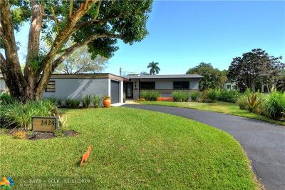 Wilton Manors Single Family Home For Sale: 2424 NW 8th Ave