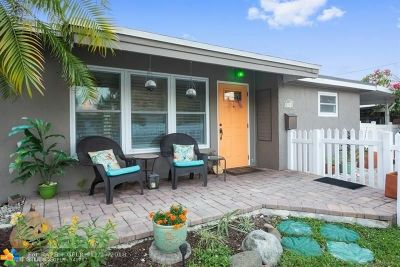 Wilton Manors Single Family Home For Sale: 2741 NE 6th Ave