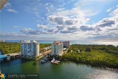 Fort Lauderdale Condo/Townhouse For Sale: 936 Intracoastal Dr #21B
