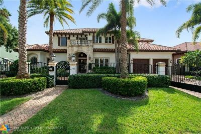 Fort Lauderdale Single Family Home For Sale: 2740 NE 20th Ct