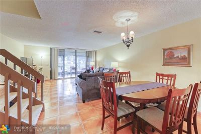 Coconut Creek Condo/Townhouse For Sale: 4797 NW 22nd St #4797