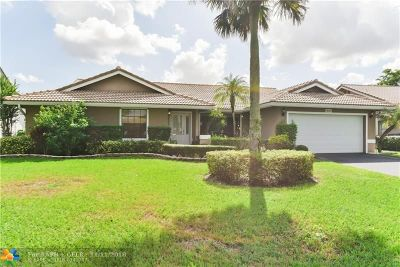 Coral Springs Single Family Home For Sale: 8716 NW 54th St