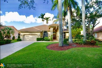 Coral Springs Single Family Home For Sale: 12749 NW 18th Mnr