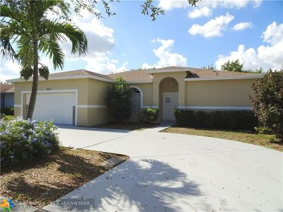 Pompano Beach Single Family Home For Sale: 1533 NW 7th Ter