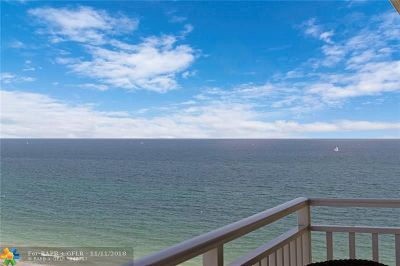 Lauderdale By The Sea Condo/Townhouse For Sale: 5200 N Ocean Blvd #1508