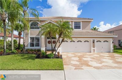 Pembroke Pines Single Family Home For Sale: 845 SW 174th Ter