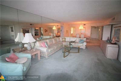 Pompano Beach FL Condo/Townhouse For Sale: $195,000