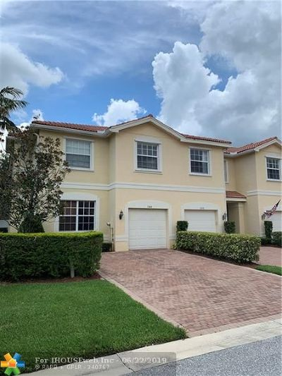 Boynton Beach Condo/Townhouse For Sale: 7644 Spatterdock Dr #7644