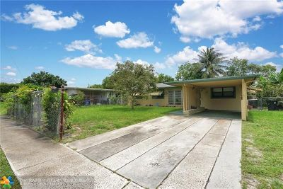 Fort Lauderdale Single Family Home For Sale: 1320 NW 20th St