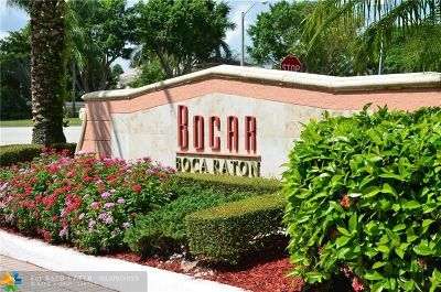 Boca Raton Condo/Townhouse For Sale: 3111 Clint Moore Rd #201