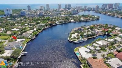 Fort Lauderdale Residential Lots & Land Backup Contract-Call LA: 671 Middle River Dr