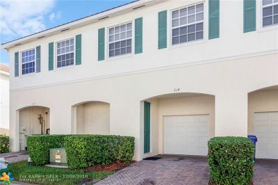 Pompano Beach FL Condo/Townhouse For Sale: $264,900