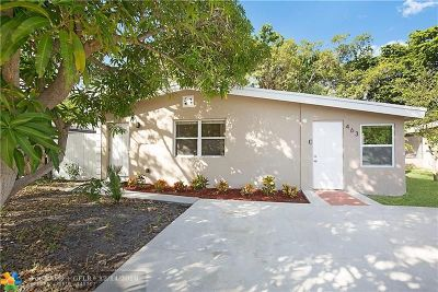 Boca Raton FL Single Family Home For Sale: $299,000