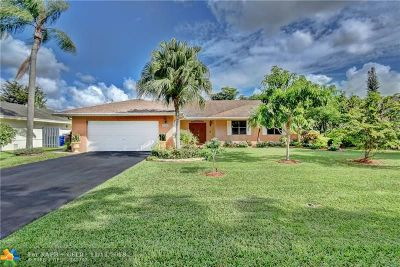 Coral Springs Single Family Home For Sale: 4373 NW 112th Ave