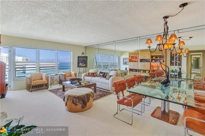 Fort Lauderdale Condo/Townhouse For Sale: 3900 Galt Ocean Drive #2114