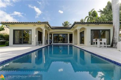 Fort Lauderdale FL Single Family Home For Sale: $1,885,000