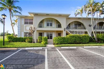 Delray Beach Condo/Townhouse For Sale: 13791 Flora Pl #A