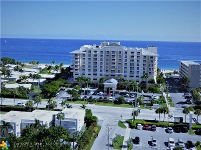 Pompano Beach Condo/Townhouse For Sale: 1200 Hibiscus Ave #1502