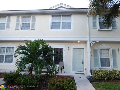 Coral Springs Rental For Rent: 5654 NW 99th Ln #149