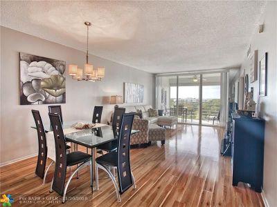 Pompano Beach Condo/Townhouse For Sale: 605 Oaks Dr #807
