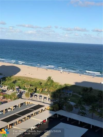 Pompano Beach Condo/Townhouse For Sale: 305 N Pompano Beach Blvd #1501