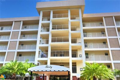 Pompano Beach Condo/Townhouse For Sale: 2851 Palm Aire Dr #105