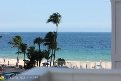 Fort Lauderdale Condo/Townhouse For Sale: 3750 Galt Ocean Dr #407