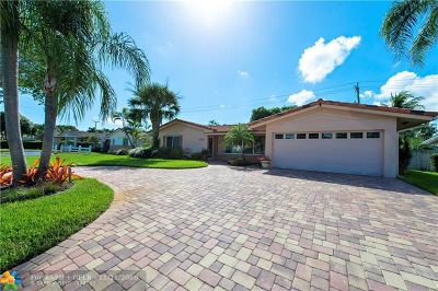 Fort Lauderdale FL Single Family Home For Sale: $440,000