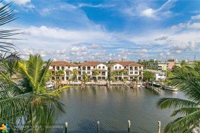 Fort Lauderdale Rental For Rent: 110 Hendricks Isle #14