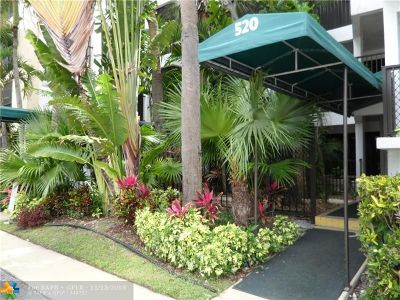 Fort Lauderdale Rental For Rent: 520 Orton Ave. #404