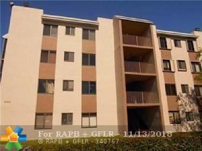 Sunrise FL Condo/Townhouse For Sale: $115,000