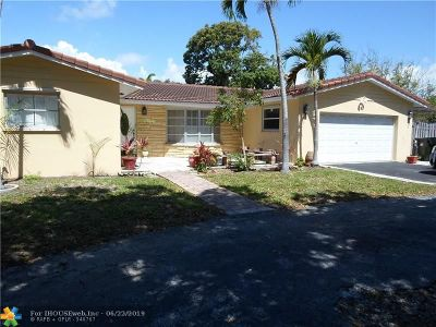 Fort Lauderdale Single Family Home For Sale: 4771 Bayview Dr