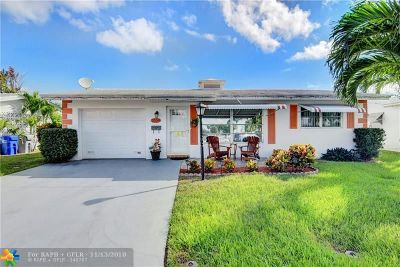 Pompano Beach Single Family Home For Sale: 2550 NW 1st Ave