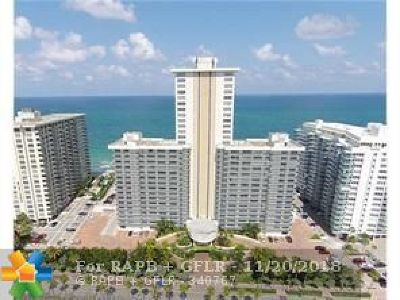 Fort Lauderdale Condo/Townhouse For Sale: 3500 Galt Ocean Dr #312